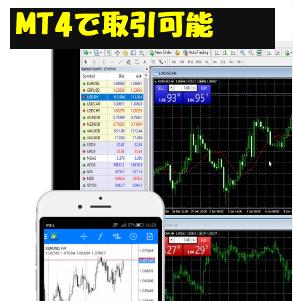 TTCMはMT4で取引可能!EA使用にも制限はありません。