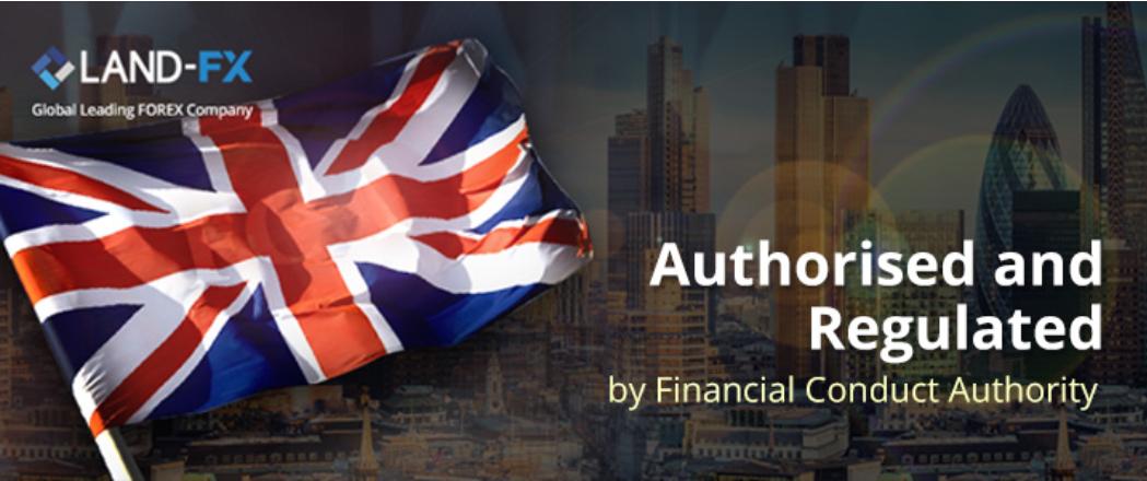 世界でも最も厳しい英国FCAライセンスを保有している安心業社のLAND-FX