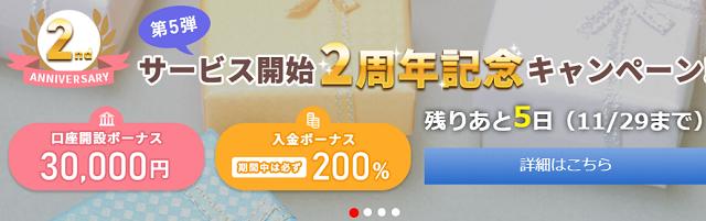 is6comの未入金3万円ボーナスの期限
